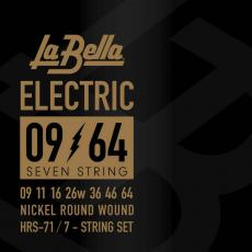 La Bella HRS-71 Nickel Wound, 7-string - 9-64